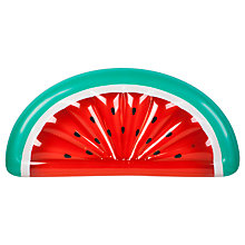 Buy Sunnylife Luxe Lie-On Float Inflatable Watermelon Online at johnlewis.com