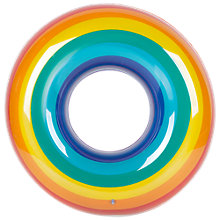 Buy Sunnylife Inflatable Rainbow Pool Ring Online at johnlewis.com
