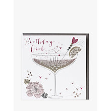 Buy Belly Button Designs Birthday Girl Greeting Card Online at johnlewis.com