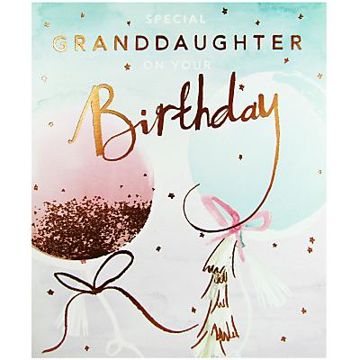 Cardmix Special Granddaughter Birthday Card