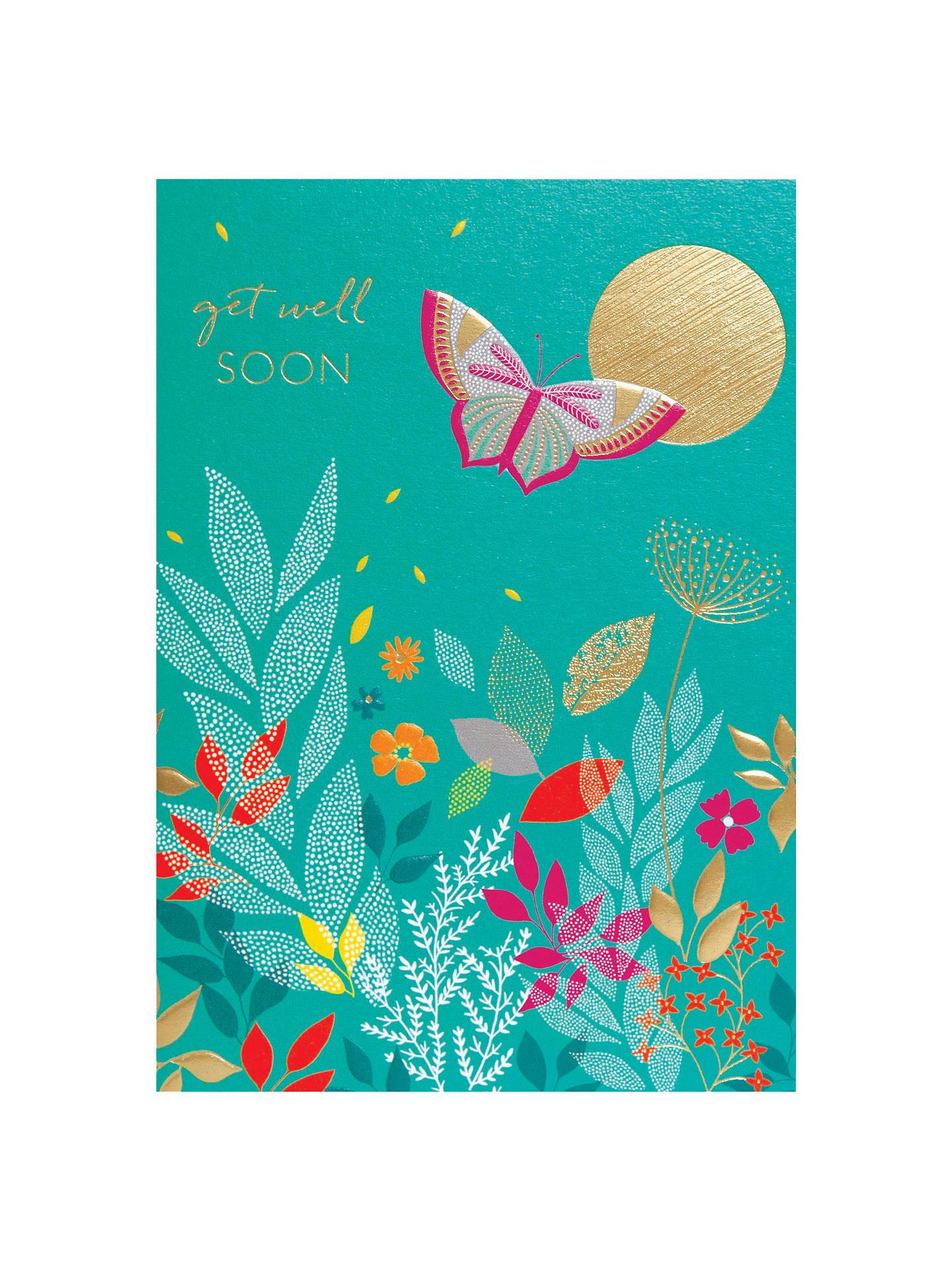 Sara Miller Get Well Soon Greeting Card At John Lewis Partners