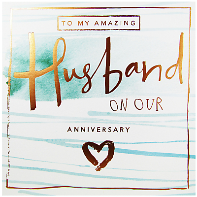 Product photo of Cardmix husband anniversary card