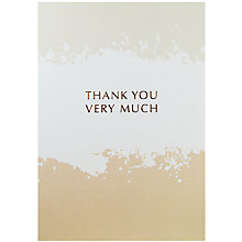 Buy Lagom Designs Thank You Greeting Card Online at johnlewis.com