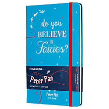 Buy Moleskine Large Peter Pan Ruled Notebook, Green Online at johnlewis.com