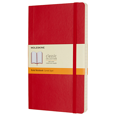 Moleskine Large Hardcover Ruled Notebook