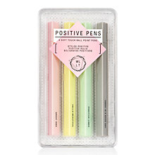Buy NPW WLLT Positive Pens Online at johnlewis.com