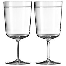 Buy Vera Wang for Wedgwood Bande Goblet, Set of 2 Online at johnlewis.com