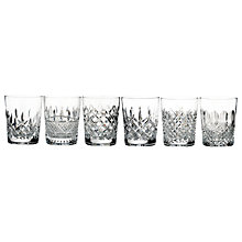 Buy Waterford Connoisseur Heritage Lead Crystal Glass Tumblers, Set of 6 Online at johnlewis.com