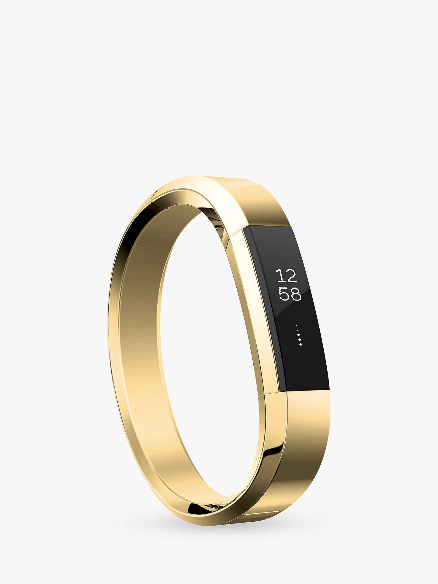 15ea05b5da281 Fitbit Alta Metal Bracelet Wristband, Stainless Steel, Gold
