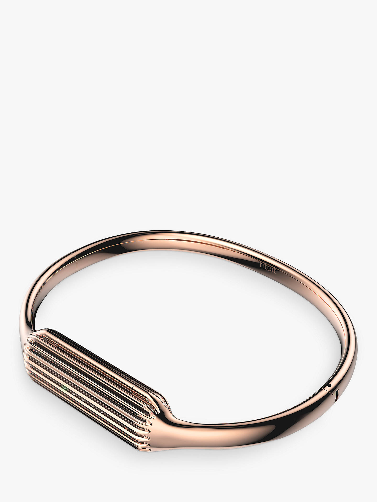 Fitbit Flex 2 Accessory Bangle Small 22k Rose Gold Plated