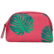 Buy John Lewis Cheese Plant Print Medium Wash Bag, Multi Online at johnlewis.com