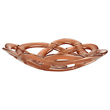 Buy Kosta Boda Glass Basket / Bowl, Copper Online at johnlewis.com