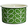 Orla Kiely Linear Stem Small Hanging Plant Pot, Green