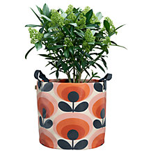 Buy Orla Kiely 70's Flower Oval Large Fabric Plant Bag, Red Online at johnlewis.com