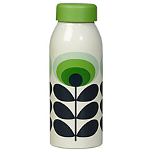 Buy Orla Kiely 70's Flower Water Bottle, Green Online at johnlewis.com