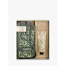 Buy Morris & Co Gardening Gloves and Hand Cream Gift Set Online at johnlewis.com