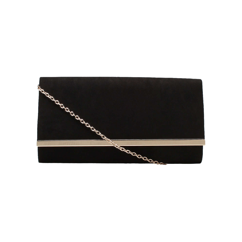 Carvela Dylan Foldover Clutch Bag, Black by Carvela
