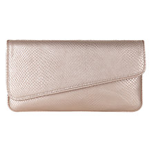 Buy Hobbs Kew Clutch Bag, Pearlised Snake Online at johnlewis.com