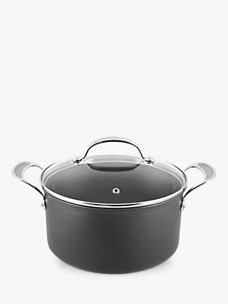Jamie Oliver by Tefal Hard Anodised Aluminium Non-Stick Stock Pot, 24cm