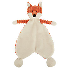 Buy Jellycat Cordy Roy Baby Fox Soother Soft Toy, One Size, Orange Online at johnlewis.com