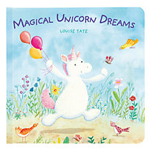 Buy Magical Unicorn Dreams Children's Board Book Online at johnlewis.com