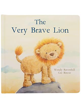 The Very Brave Lion Children's Board Book