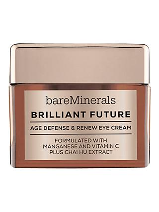 bareMinerals Brilliant Future™ Age Defense & Renew Eye Cream, 15g