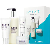 Buy Elemis Hydrate Skin Solutions Skincare Gift Set Online at johnlewis.com