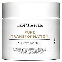 Buy bareMinerals Pure Transformation™ Night Treatment Online at johnlewis.com