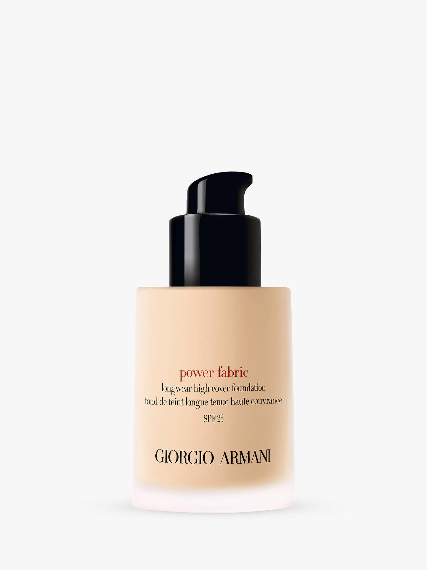 Buy Giorgio Armani Power Fabric Foundation, 2 Online at johnlewis.com