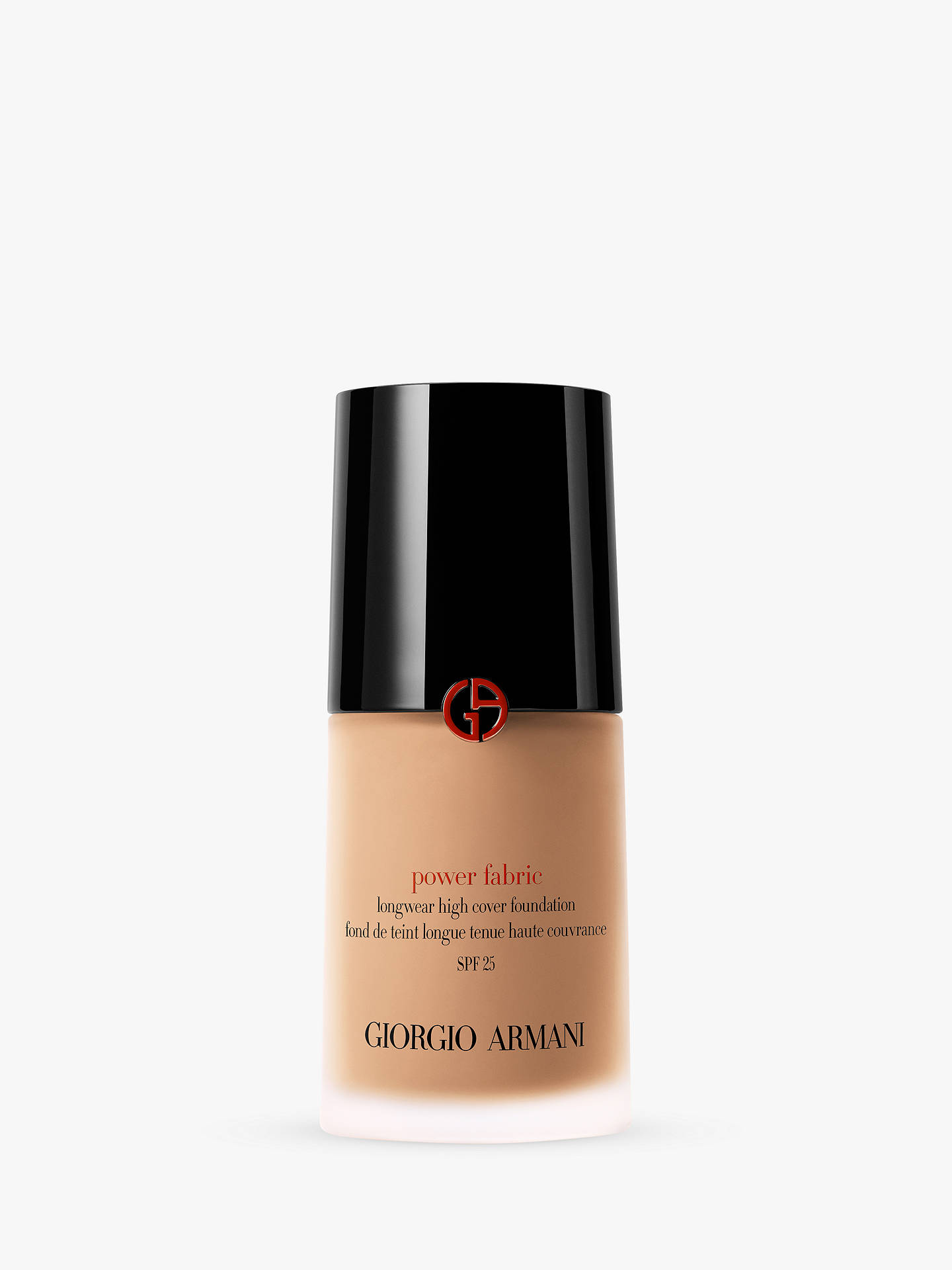 Buy Giorgio Armani Power Fabric Foundation, 8 Online at johnlewis.com