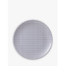 Buy Royal Doulton Pacific Melamine Round Serving Platter, Blue, Dia.32.5cm Online at johnlewis.com