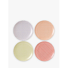 Buy Royal Doulton Pastels Melamine Salad Plate, Set of 4, Multi, Dia.20.5cm Online at johnlewis.com