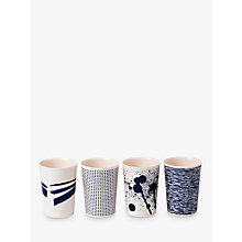 Buy Royal Doulton Pacific Melamine Tumbler, Set of 4, Blue, 300ml Online at johnlewis.com