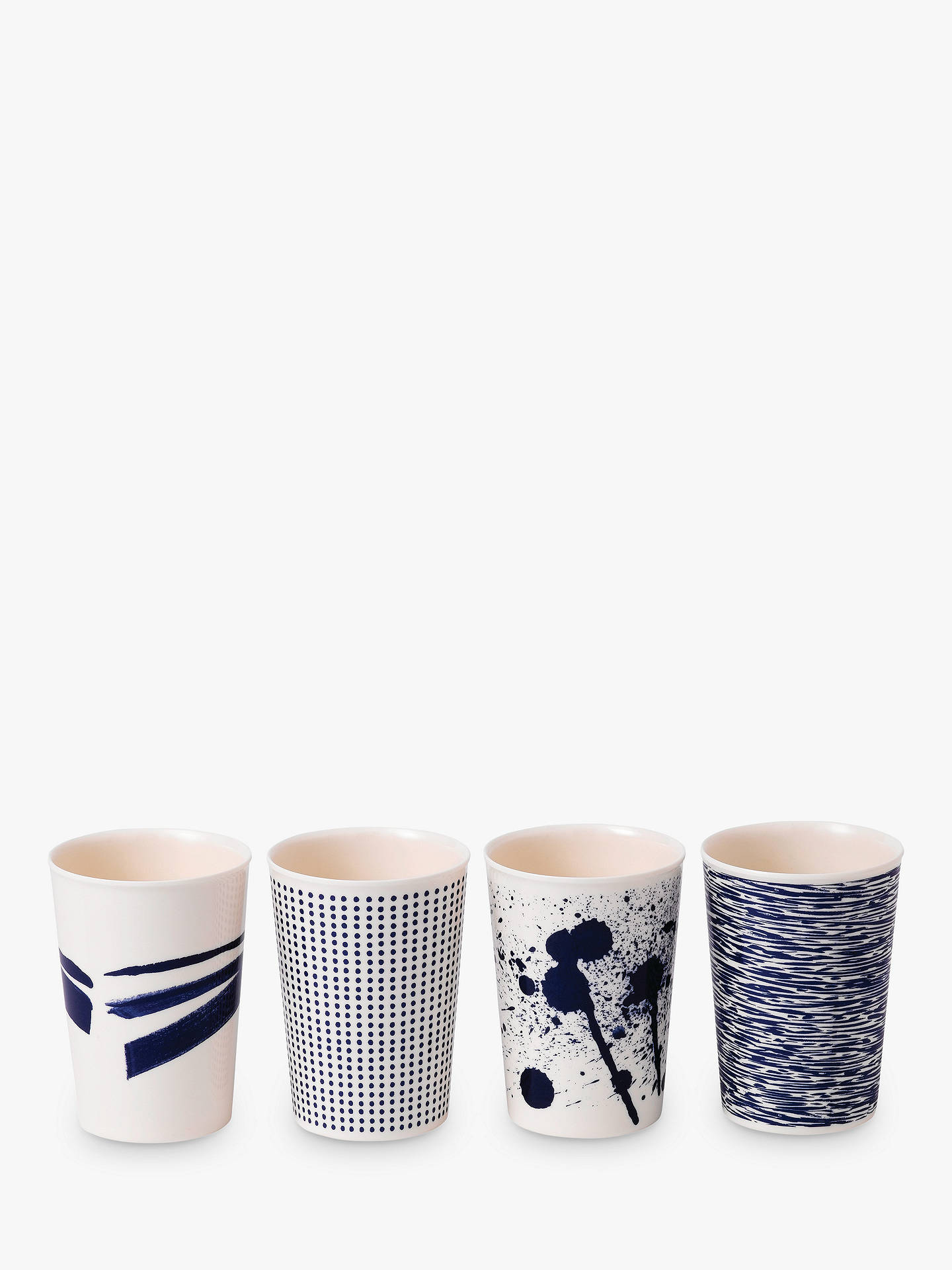 BuyRoyal Doulton Pacific Melamine Tumbler, Set of 4, Blue, 300ml Online at johnlewis.com