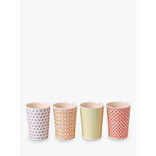 Buy Royal Doulton Pastels Melamine Tumbler, Set of 4, Multi, 300ml Online at johnlewis.com