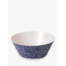 Buy Royal Doulton Pacific Melamine Serving Bowl, Blue, 1800ml Online at johnlewis.com