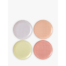 Buy Royal Doulton Pastels Melamine Dinner Plate, Set of 4, Multi, Dia.25cm Online at johnlewis.com