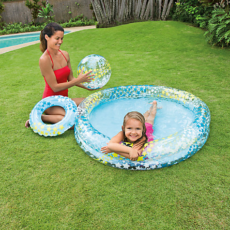 buy star gaze paddling pool set john lewis. Black Bedroom Furniture Sets. Home Design Ideas