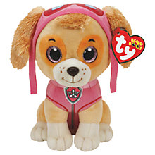Buy Ty Paw Patrol Skye 15cm Beanie Soft Toy Online at johnlewis.com