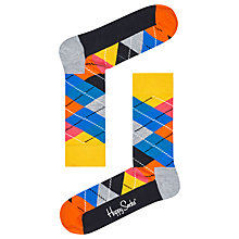 Buy Happy Socks Argyle Socks, One Size Online at johnlewis.com