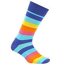 Buy Happy Socks Stripe Socks, One Size, Multi Online at johnlewis.com