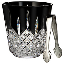Buy Waterford Black Cut Crystal Ice Bucket Online at johnlewis.com