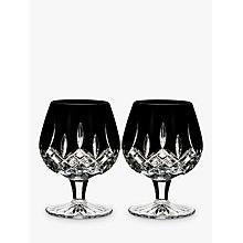 Buy Waterford Black Cut Crystal Brandy Glass, Set of 2 Online at johnlewis.com