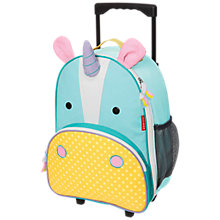 Buy Skip Hop Zoo Rolling Luggage, Unicorn Online at johnlewis.com