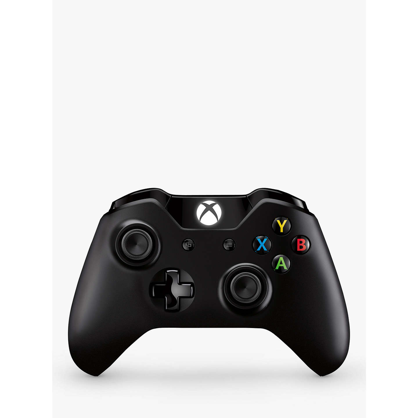 BuyMicrosoft Xbox One Wireless Controller, Black Online at johnlewis.com ...