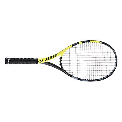 Babolat Aero G Intermediate Graphite Tennis Racket, Black/Yellow