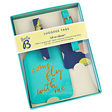Buy Busy B 'Come Fly With Me' Luggage Set Online at johnlewis.com