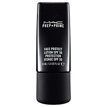 Buy MAC Prep + Prime Face Protect SPF 50, 30ml Online at johnlewis.com