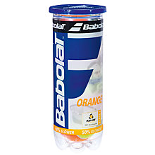 Buy Babolat Orange Mini-Tennis Balls Online at johnlewis.com